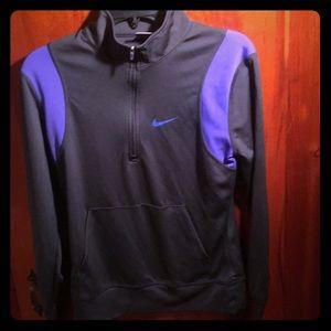 Nike half zip sweatshirt